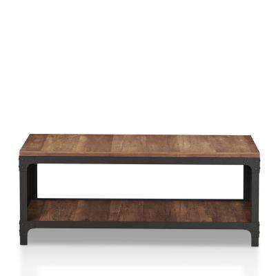 19 in. H x 47 in. W. 6 Pair Anselme Reclaimed Oak Open Shelf Shoe Storage Bench