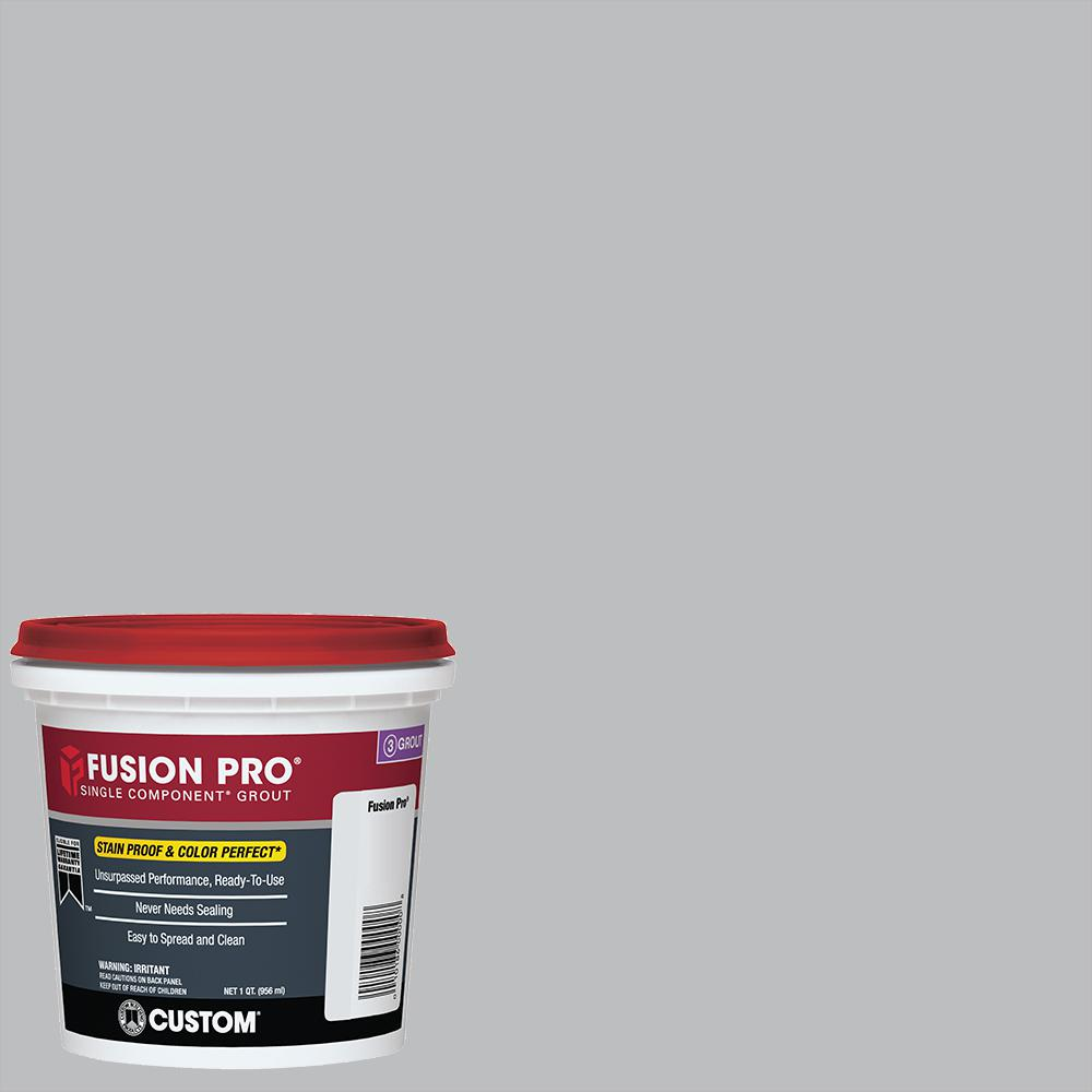 Fusion Pro #115 Platinum 1 qt. Single Component Grout