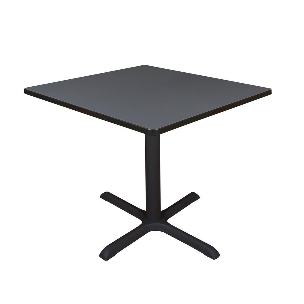 Cain Grey Square 36 in. Breakroom Table