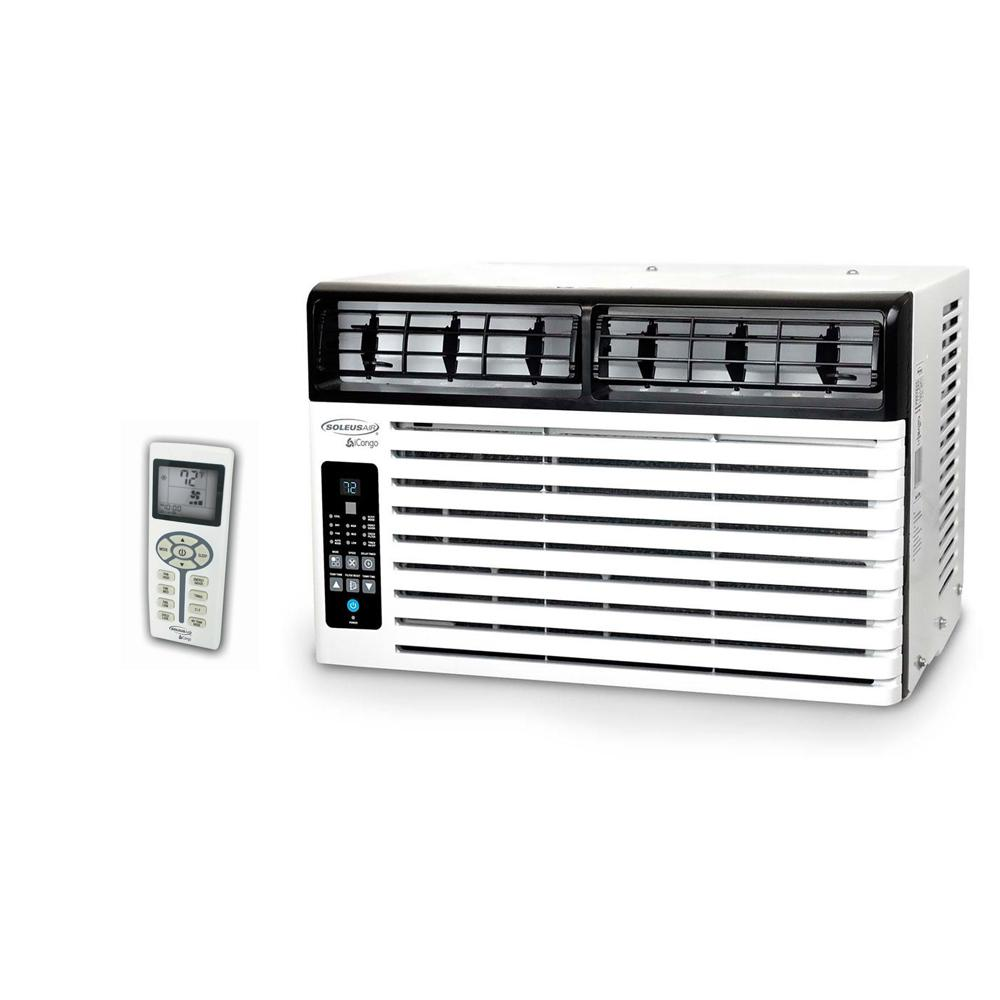 Soleus Air 8,500 BTU 115 Volt Window Air Conditioner With LCD Remote  Control, Energy