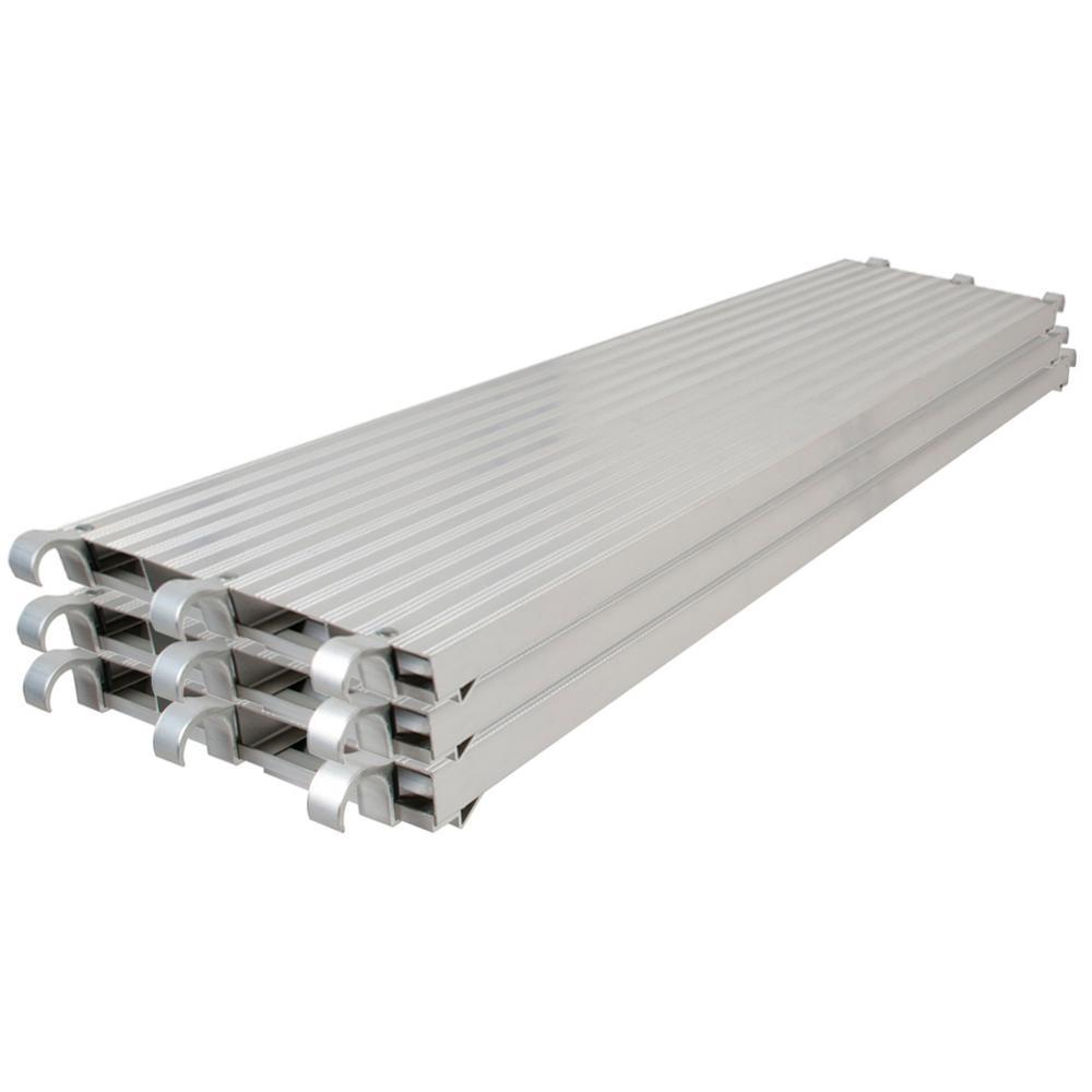 10 ft. x 19 in. All Aluminum Platform (Set of 3)