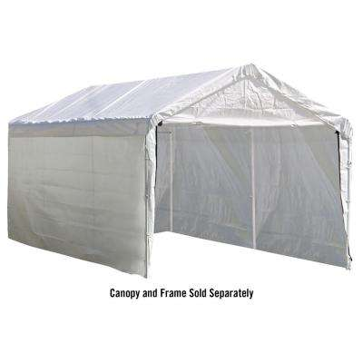 10 ft. x 20 ft. Sidewalls and Doors Kit for Max AP White Canopy