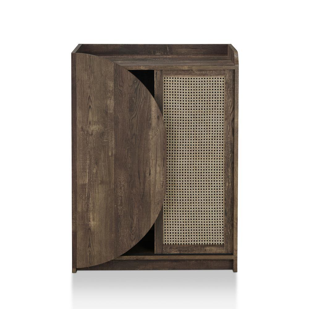 Astrid Reclaimed Oak Show Cabinet