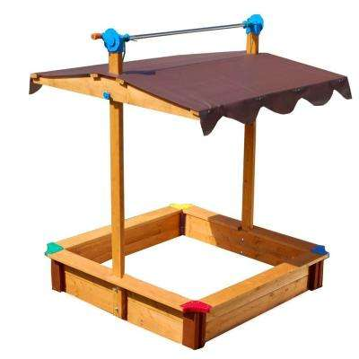 40 in. x 40 in. x 48 in. Square Sandbox