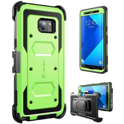 Galaxy Note 7-Armorbox Fullbody Case, Green