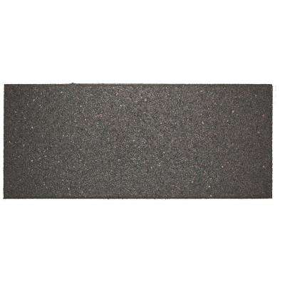 Flat Profile 10 in. x 24 in. Grey Stair Tread (4-Pack)