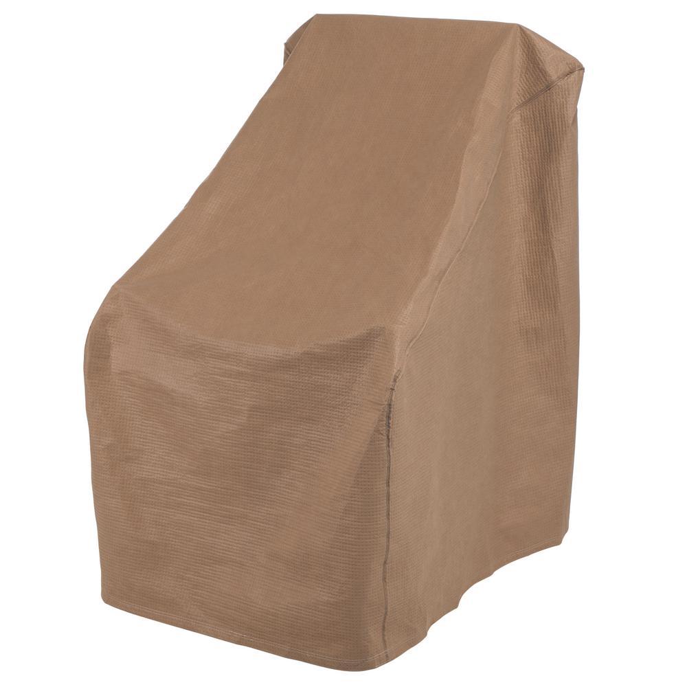 Essential 34 in. W x 42 in. D x 40 in. H Latte Porch Rocker Cover