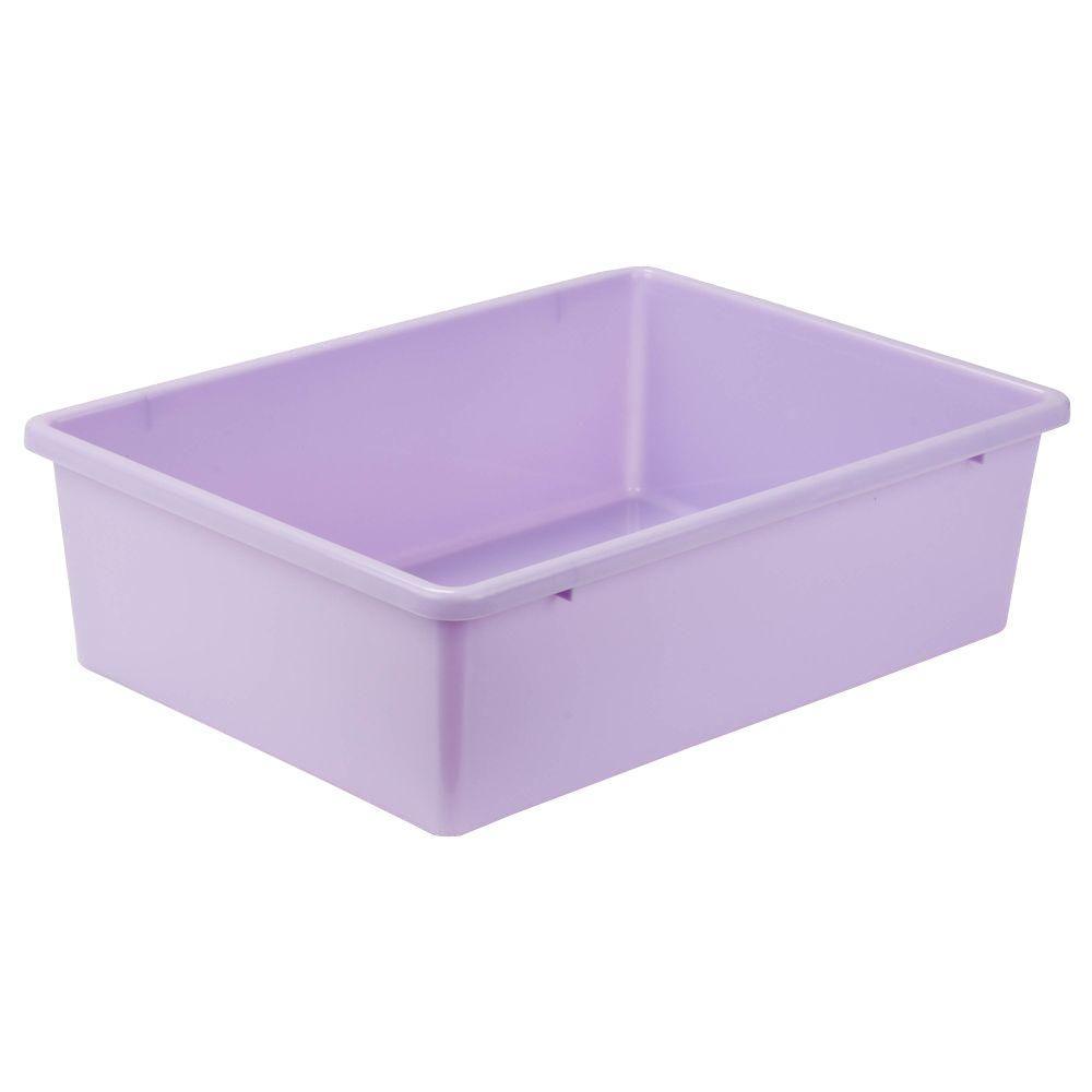 Beau Honey Can Do 16.5 Qt. Storage Bin In Purple