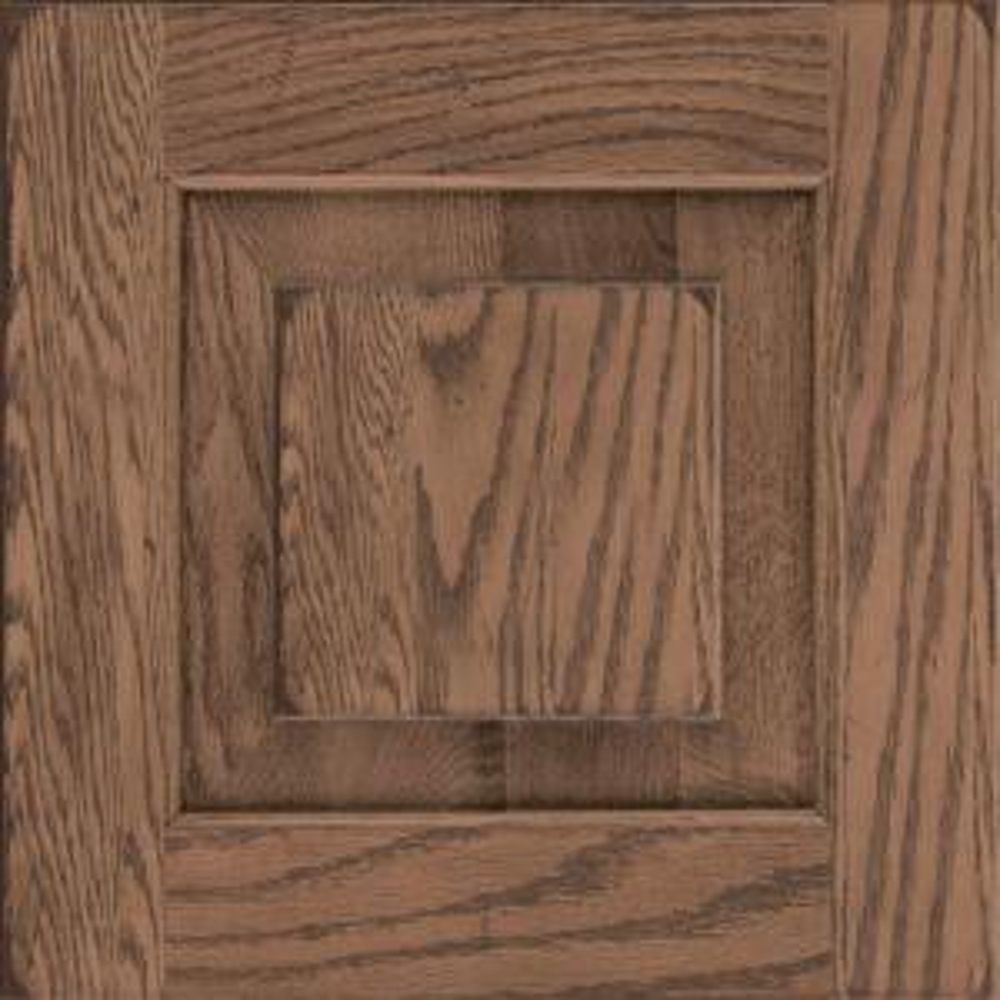 Kraftmaid 15x15 In Cabinet Door Sample In Dillon Oak In