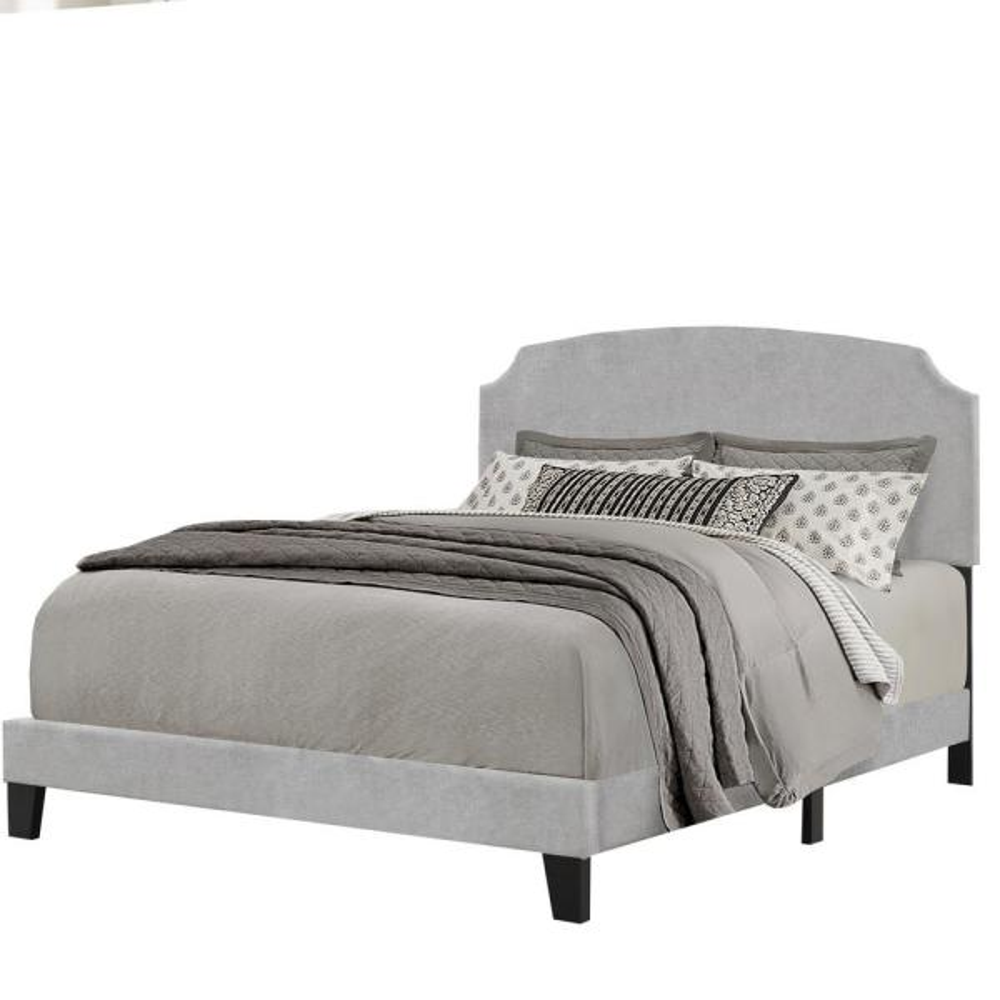 Hillsdale Furniture Desi Glacier Gray Full Bed in 1 2036-460
