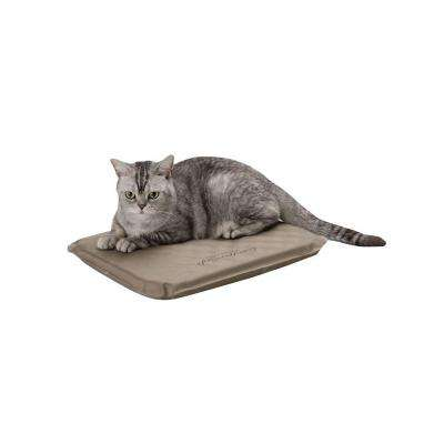 Lectro-Soft Small Brown Outdoor Heated Dog Bed
