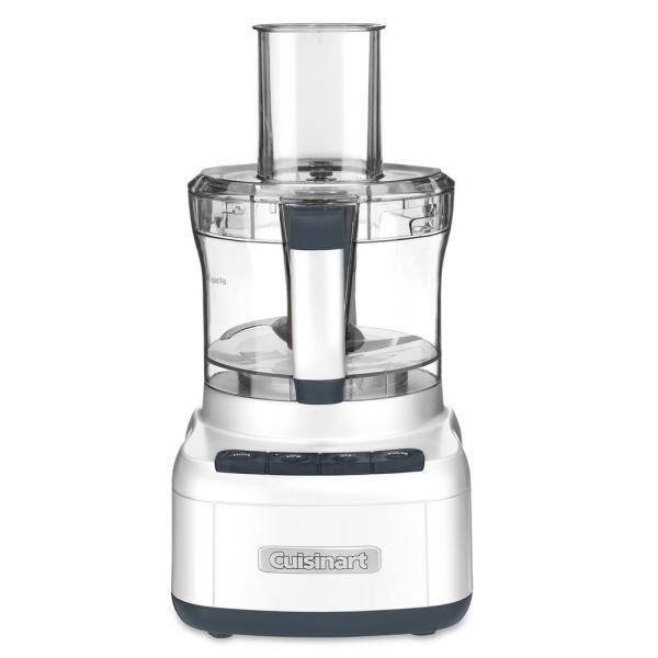 Cuisinart Elemental 8-Cup 3-Speed White Food Processor FP-8