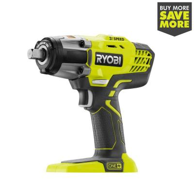 18-Volt ONE+ Cordless 3-Speed 1/2 in. Impact Wrench (Tool-Only)