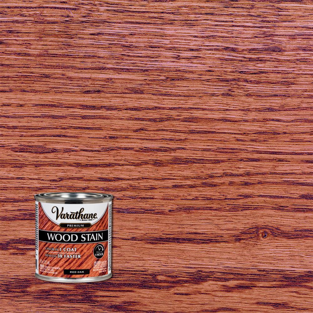 8 oz. Red Oak Premium Fast Dry Interior Wood Stain