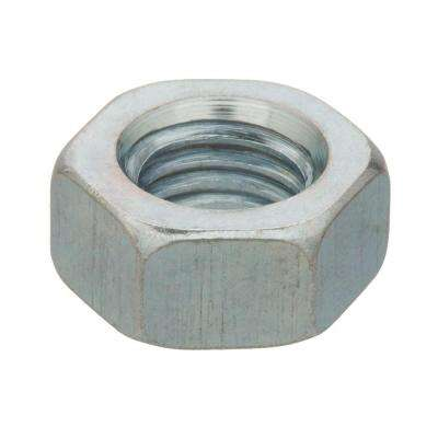 M7-1.0 Zinc-Plated Steel Hex Nut (2 per Pack)