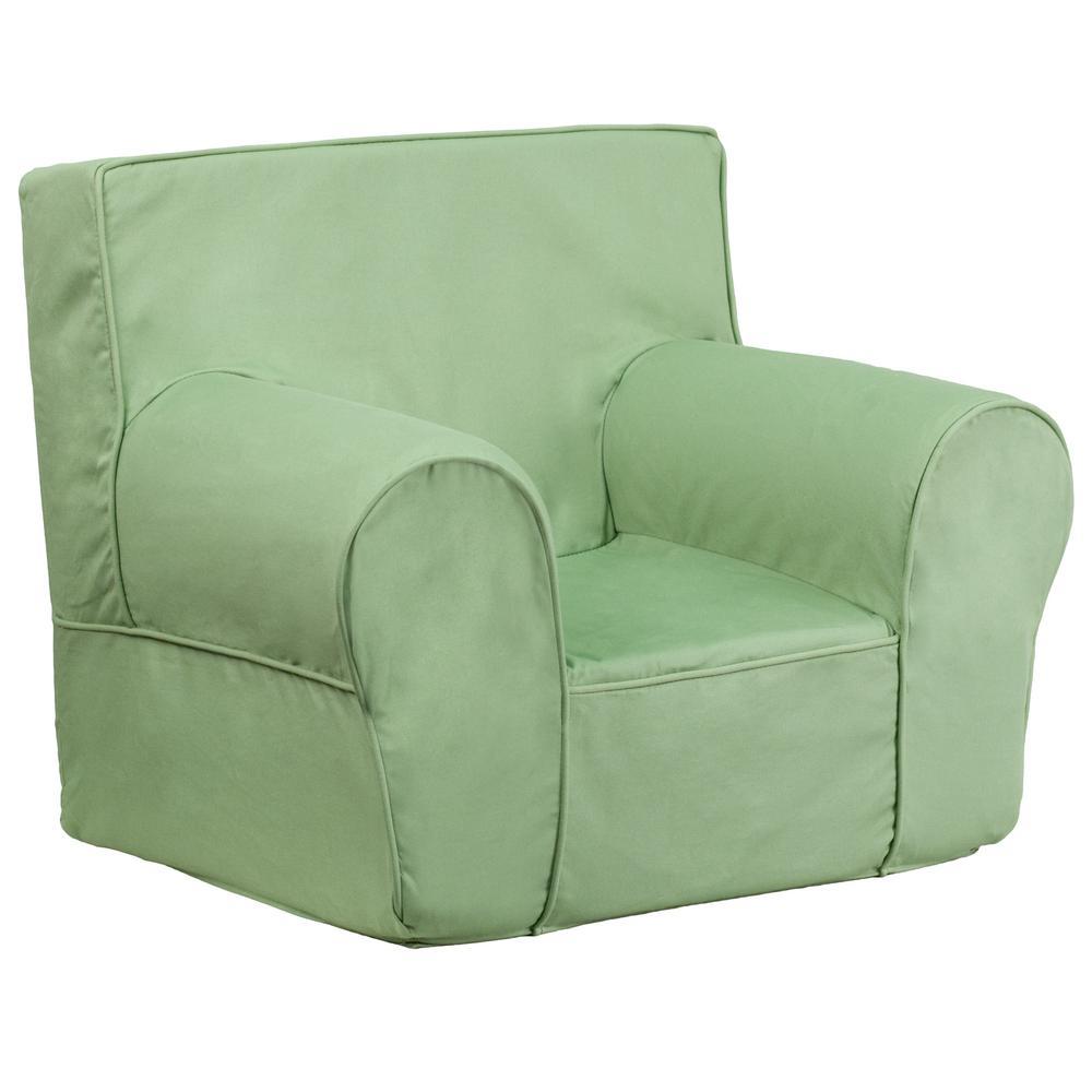 Genial Flash Furniture Small Solid Green Kids Chair