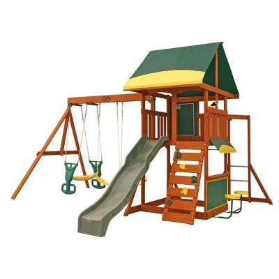 Brookridge Wooden Swing Set