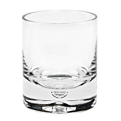 12 oz. Galaxy Gold Old Fashioned Rocks Lead Free Crystal Scotch Glass (4-Piece Set)