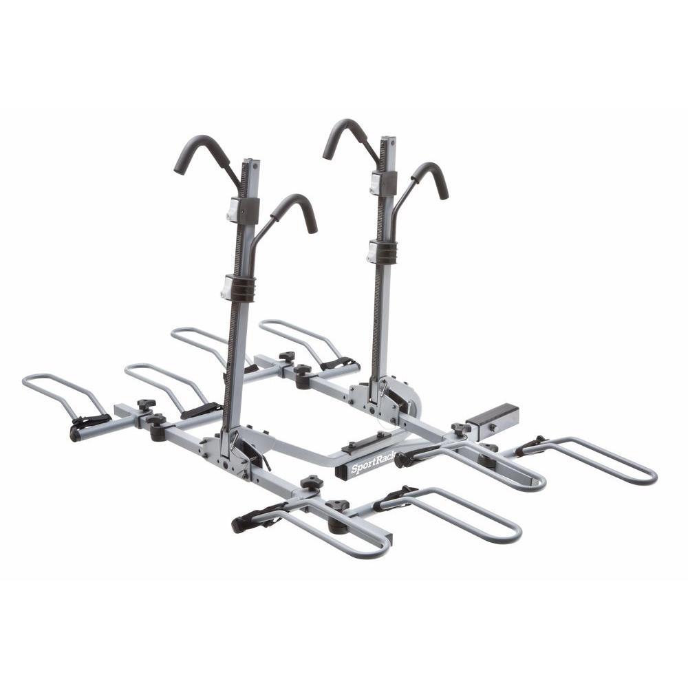 SportRack 4-Bike Lock and Tilt Platform Hitch Rack