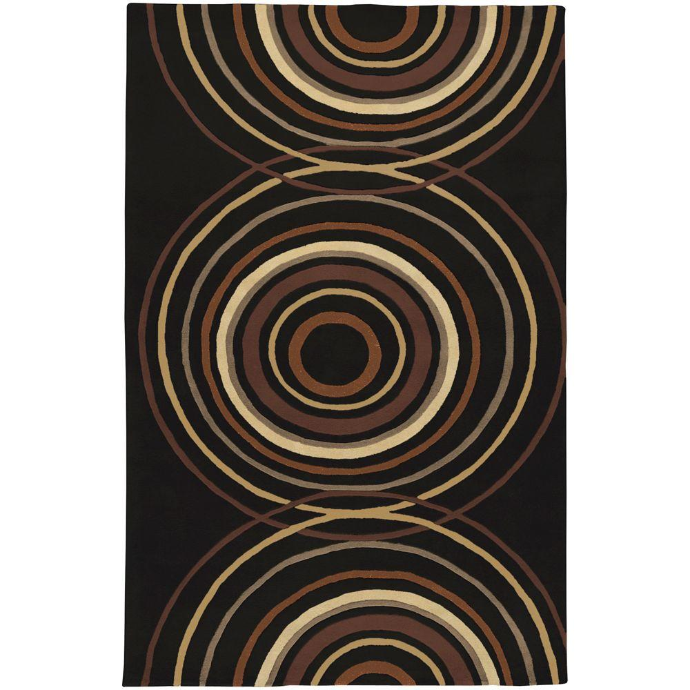 Artistic Weavers Michael Black 6 ft. x 9 ft. Area Rug