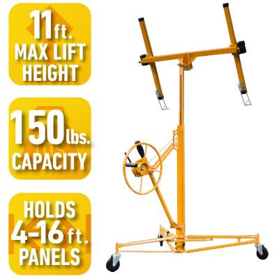 Troy Drywall And Panel Hoist With Extension Dph1116 The Home Depot