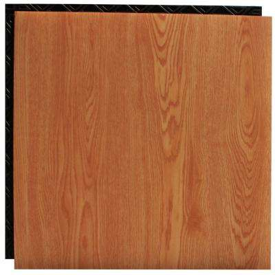 Take Home Sample - Red Oak Resilient Vinyl Plank Flooring - 18.5 in. x 9.25 in.