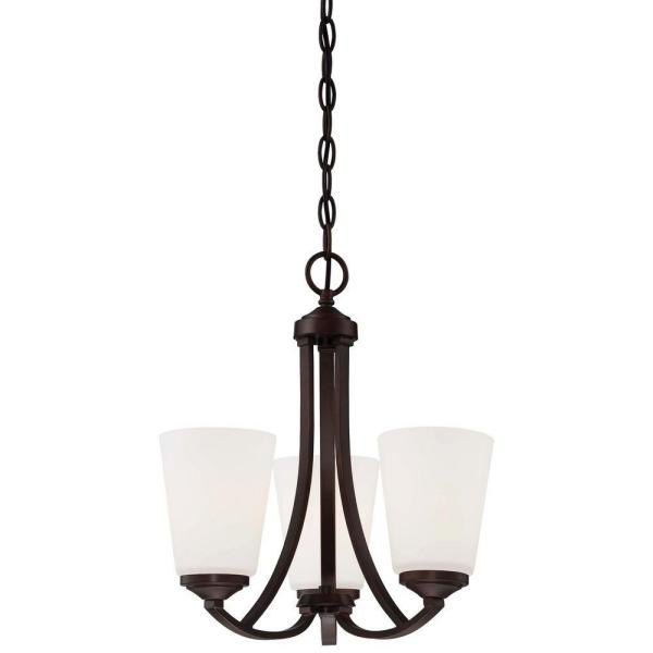 Overland Park 3-Light Vintage Bronze Chandelier