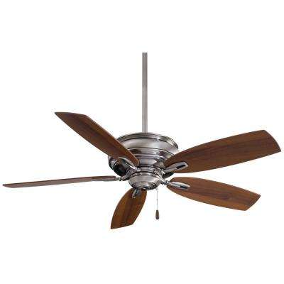 Timeless 54 in. Indoor Pewter Ceiling Fan