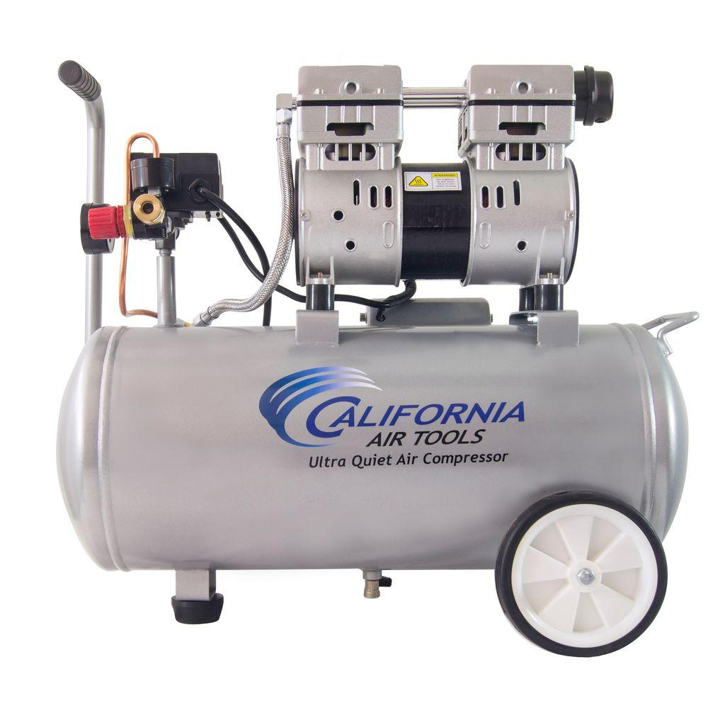 Electric Air Compressor >> California Air Tools 8 0 Gal 1 0 Hp Ultra Quiet And Oil Free Electric Air Compressor
