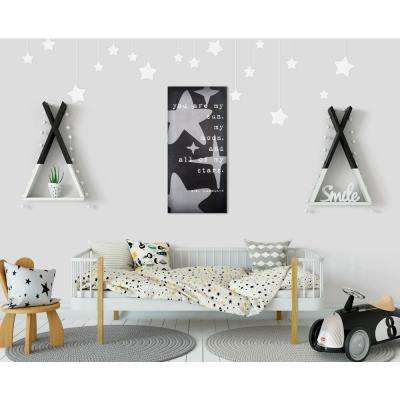 """15 in. W x 32 in. H """"All of My Stars"""" By KDM Printed Wall Art"""