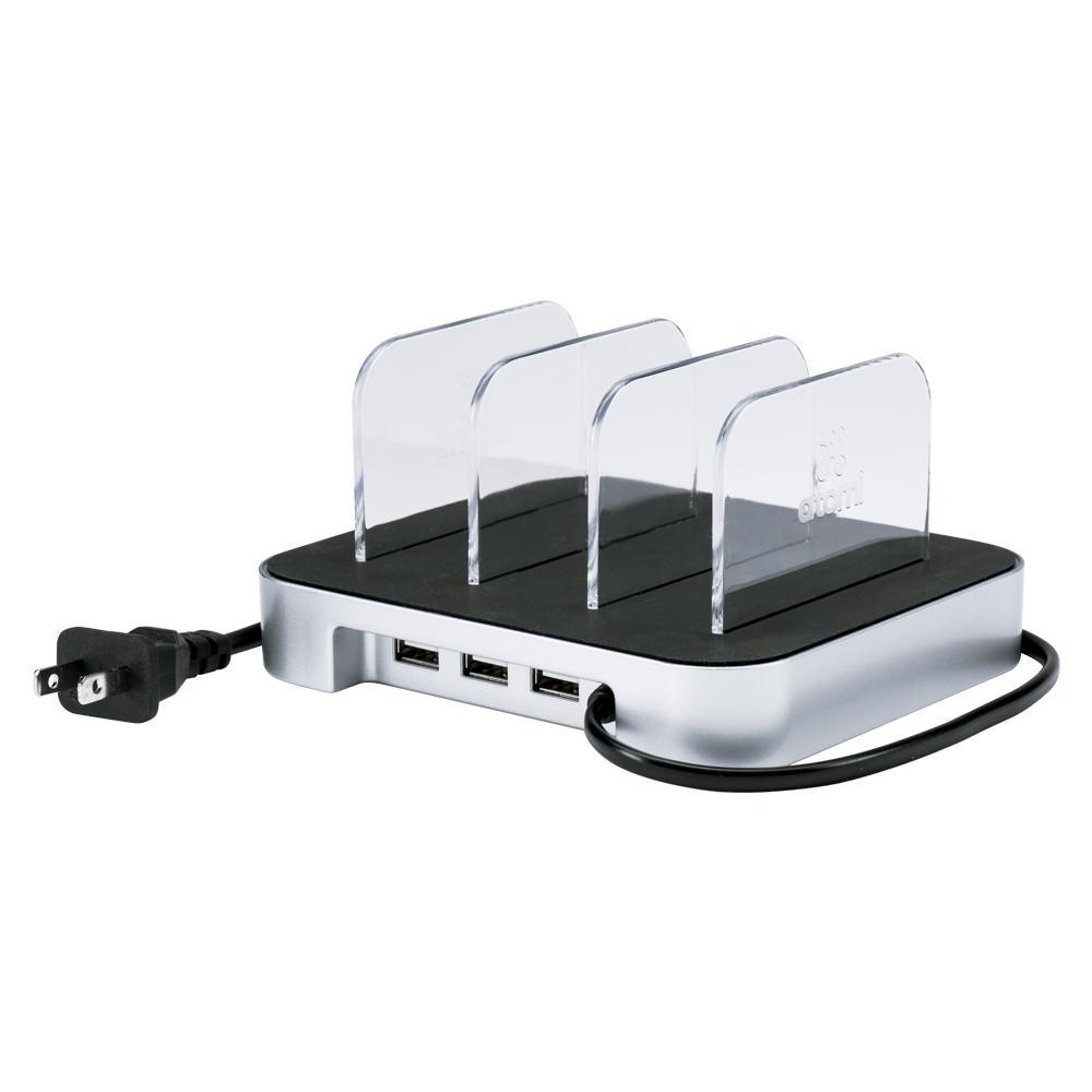 Charge Station 3-Port USB Desktop Charging Station