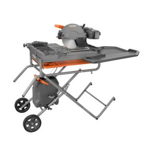 Ridgid 10 inch Wet Tile Saw with Stand by RIDGID