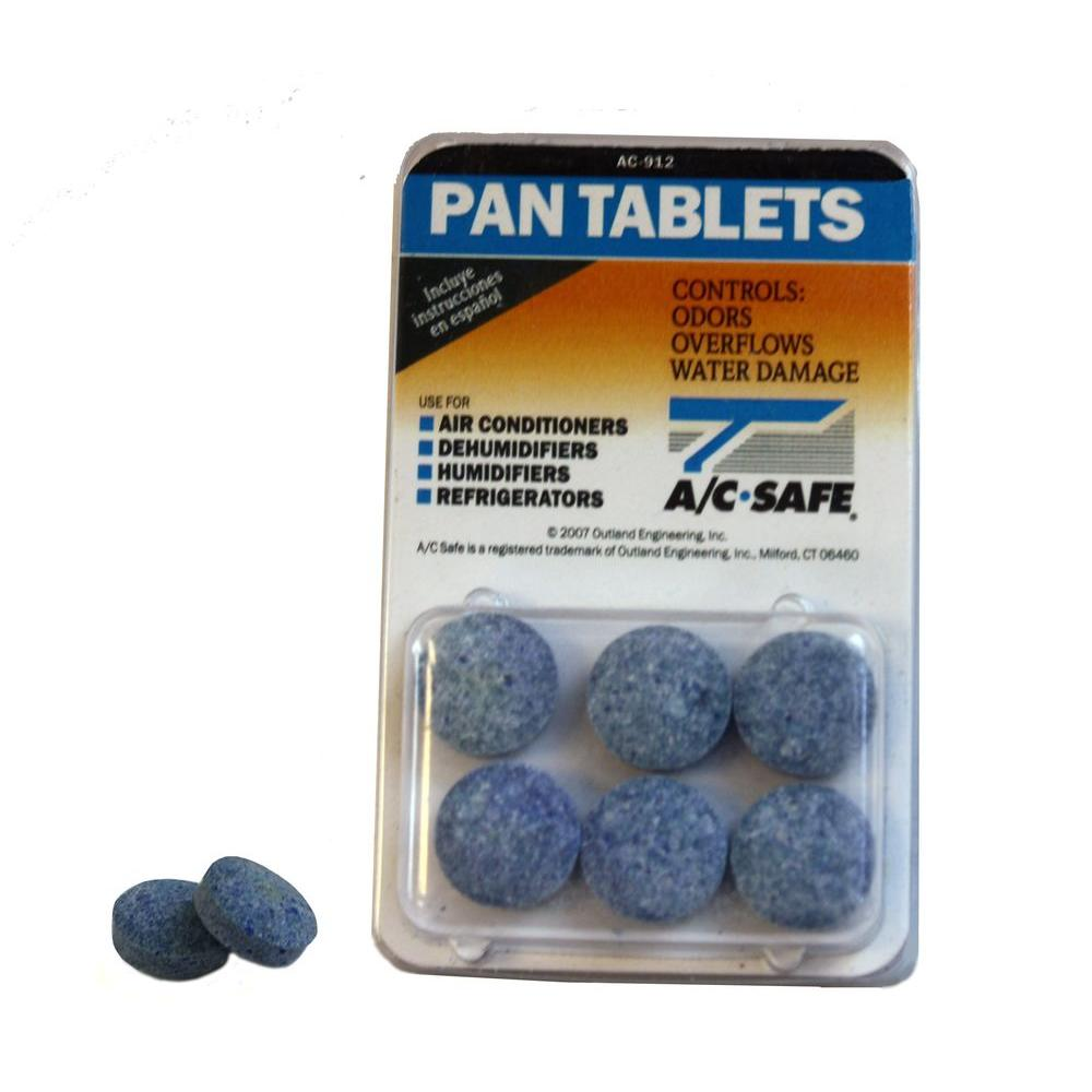 Ac Safe Air Conditioner Pan Tablets 6 Pack Ac 912 The