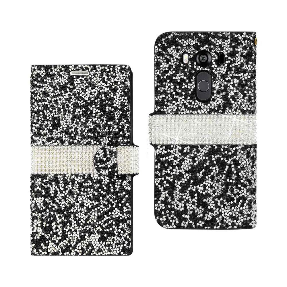 REIKO LG V10 Folio Case in Black