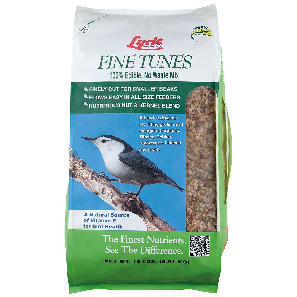 Lyric 15 lbs. Fine Tunes No Waste Bird Seed Mix by Lyric