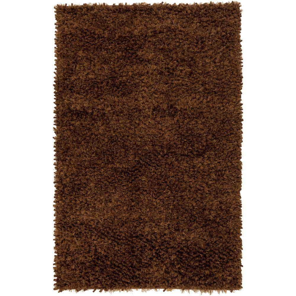 Awasa Chocolate 5 ft. x 8 ft. Indoor Area Rug