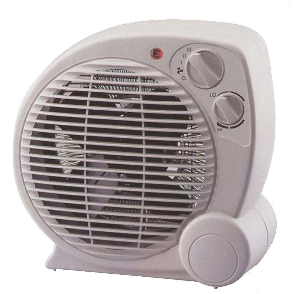 Pelonis 1500-Watt Fan Forced Electric Portable Heater with 3-Power Selections