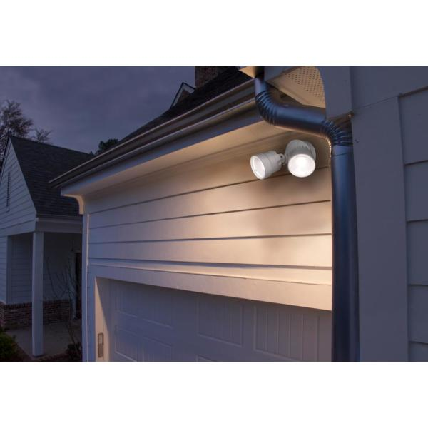 Integrated Led Wall Or Eave Mount