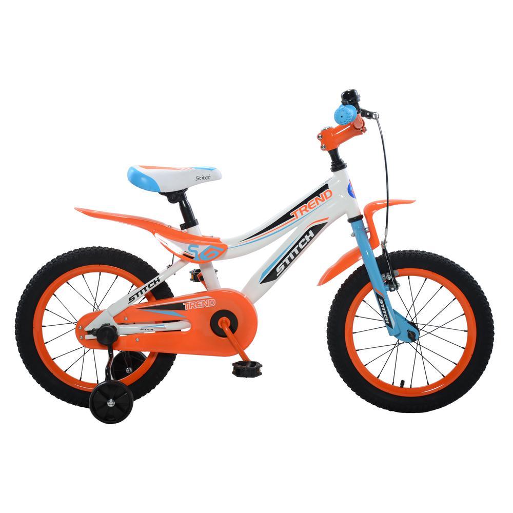 Trend Boy's Bike, 16 in. wheels, 10 in. frame in Blue/Ora...