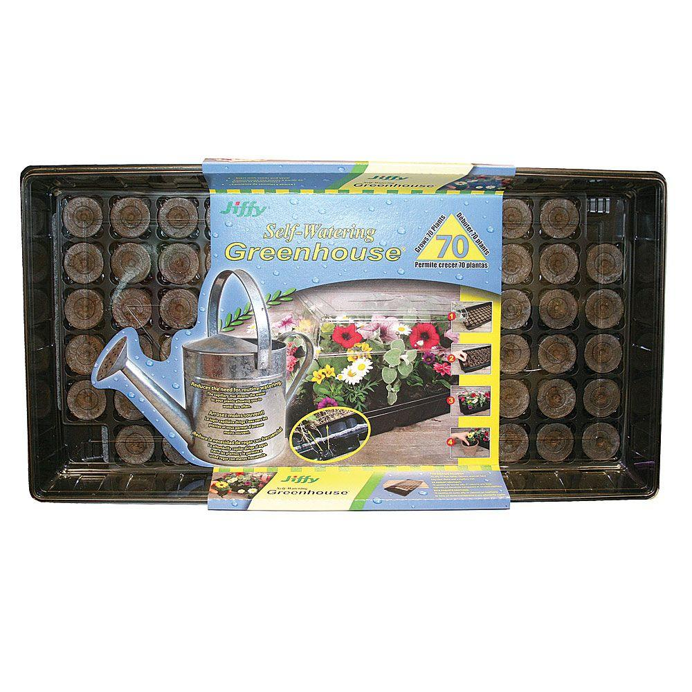 Self-Watering Greenhouse
