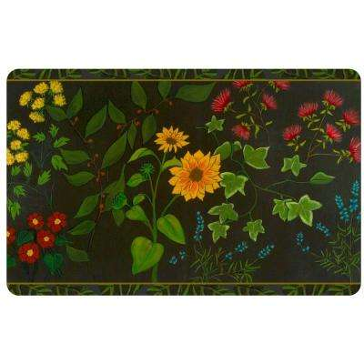 Multi Color 23 in. x 36 in. Neoprene Summer Garden Door Mat