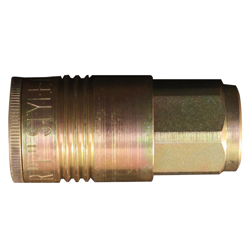 1/4 in. FNPT P Style Coupler (5-Pieces)