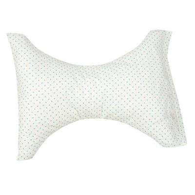 Standard Cervical Rest Pillow in Blue Rosebud