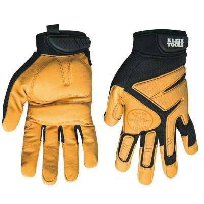 Large Journeyman Leather Gloves