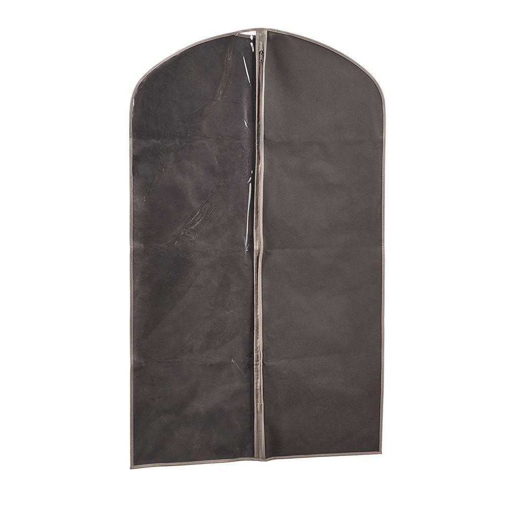43 in. Gray Garment Bag