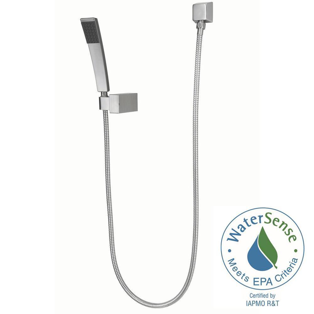 Kenzo Single-Spray Wall Mount Hand Shower Kit in Brushed Nickel