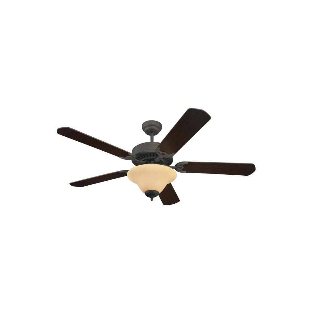 quality ceiling fans quality max sea gull lighting quality pro deluxe 52 in roman bronze indoor ceiling fan