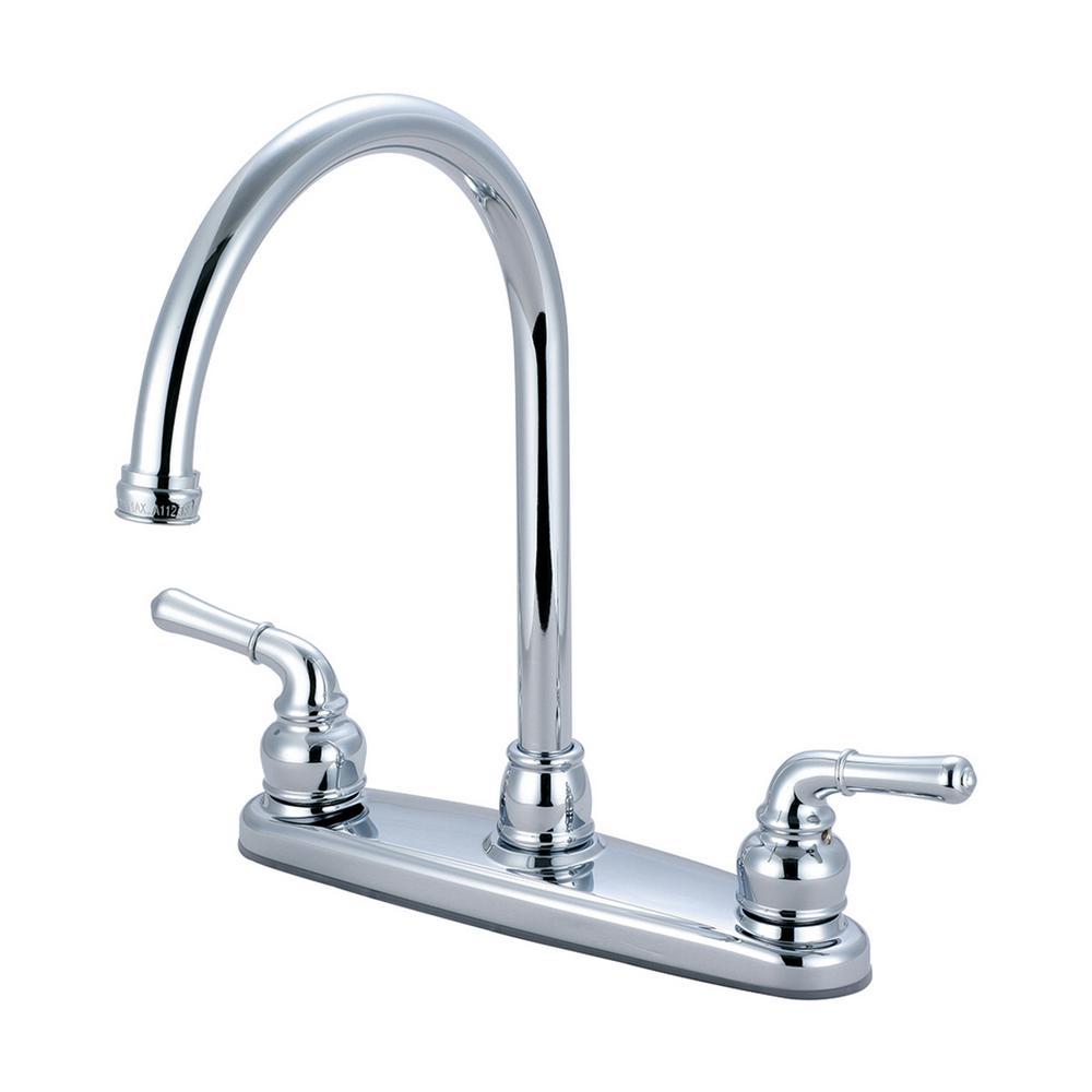 Accent 2-Handle Standard Kitchen Faucet in Moroccan Bronze