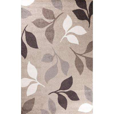 Casa Collection Canyon Beige 7 ft. x 10 ft. Area Rug