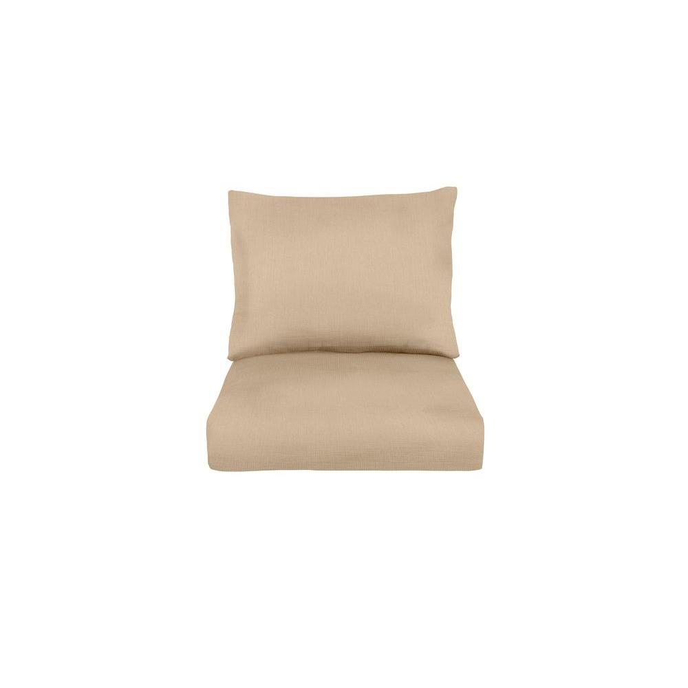 Marquis Replacement Outdoor Lounge Chair Cushion in Harvest